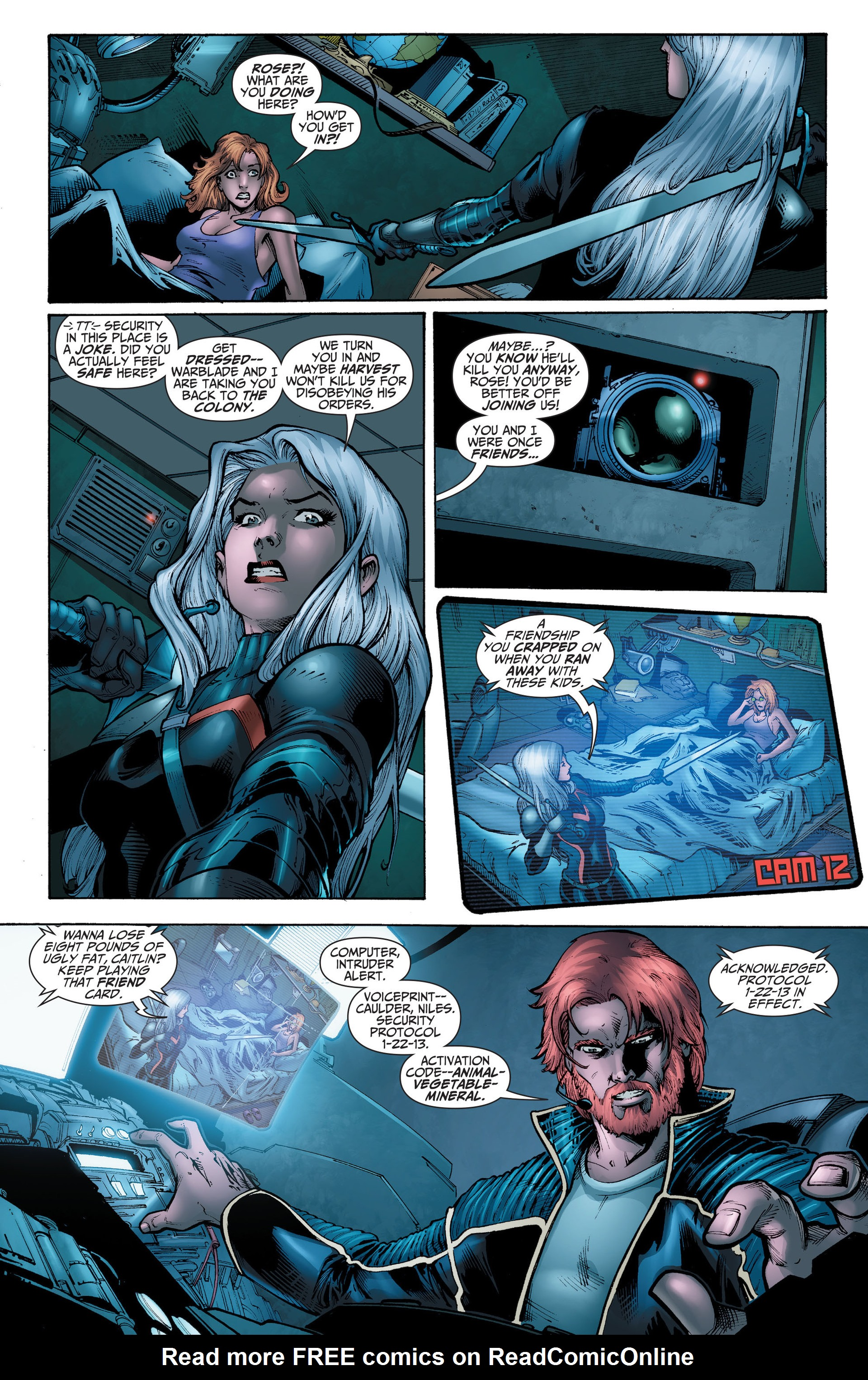 Read online The Ravagers comic -  Issue #11 - 5