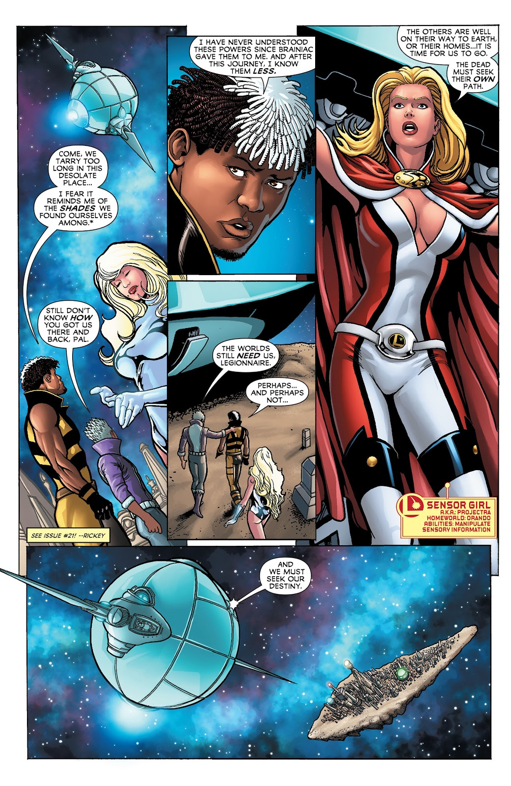 Legion of Super-Heroes (2011) Issue #23 #24 - English 4