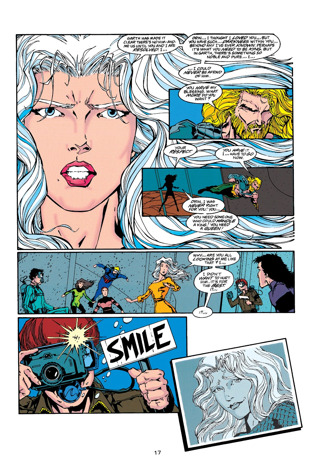 Aquaman (1994) Issue #38 #44 - English 17