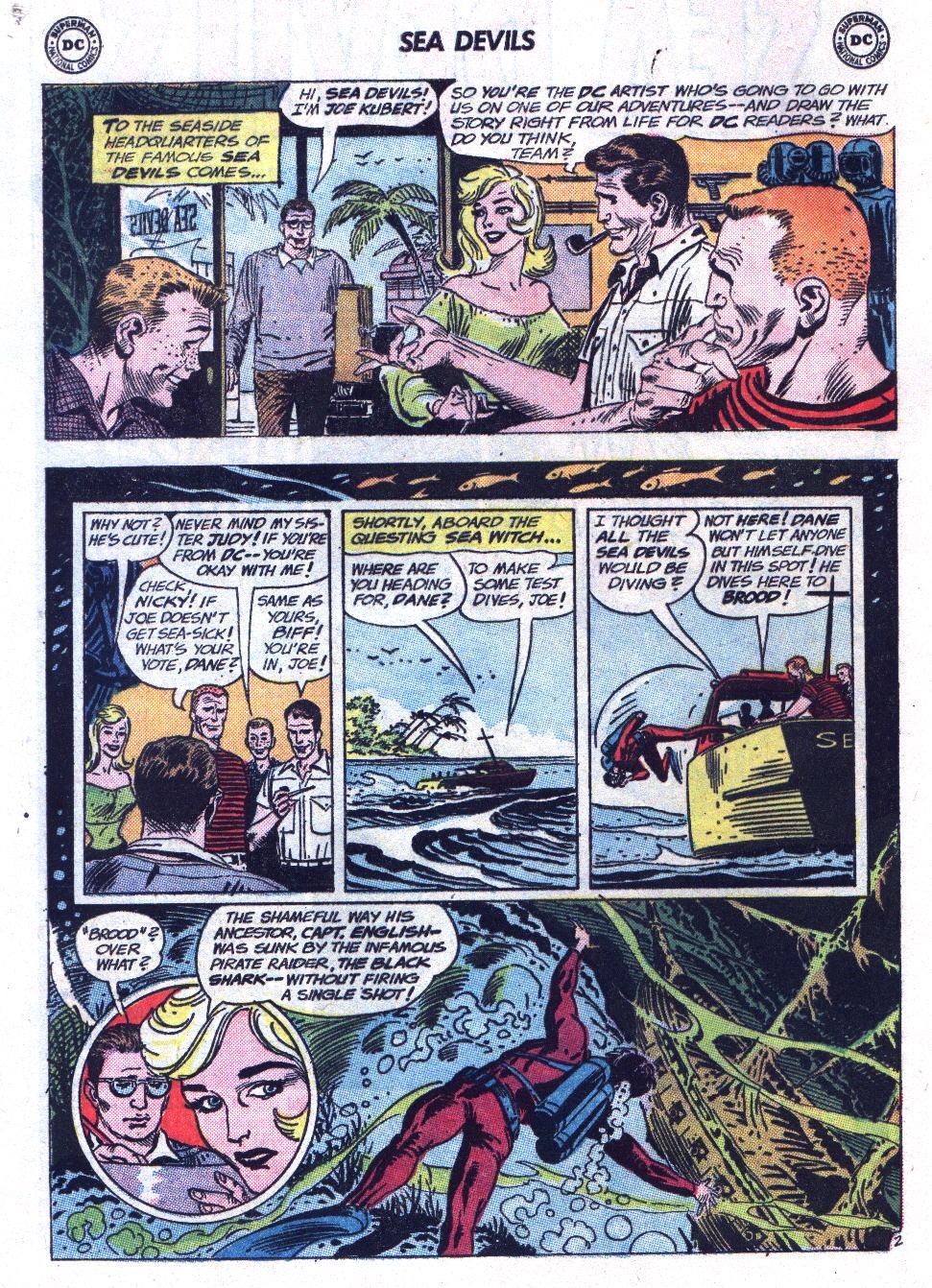 Read online Sea Devils comic -  Issue #13 - 4