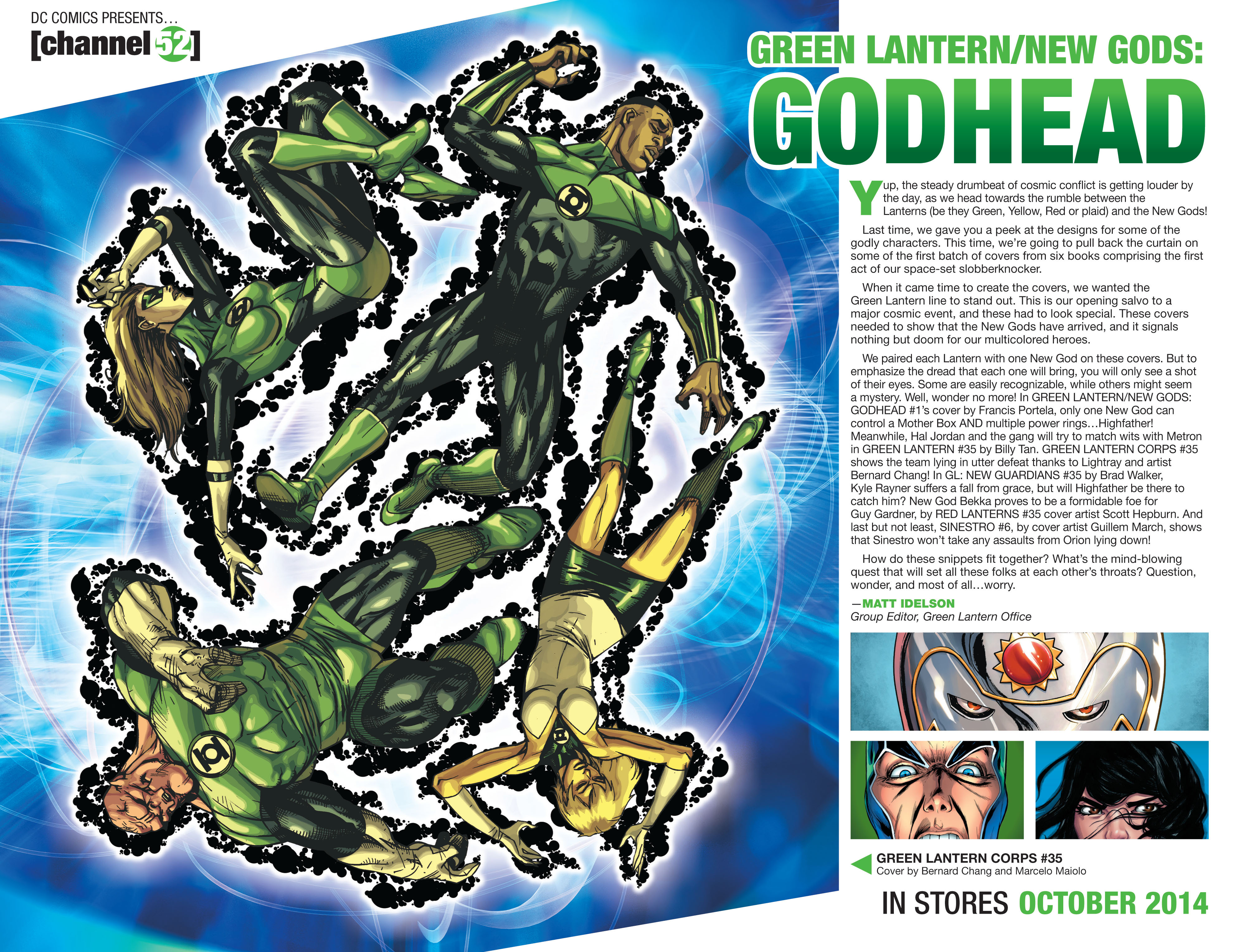Read online Booster Gold: Futures End comic -  Issue # Full - 22