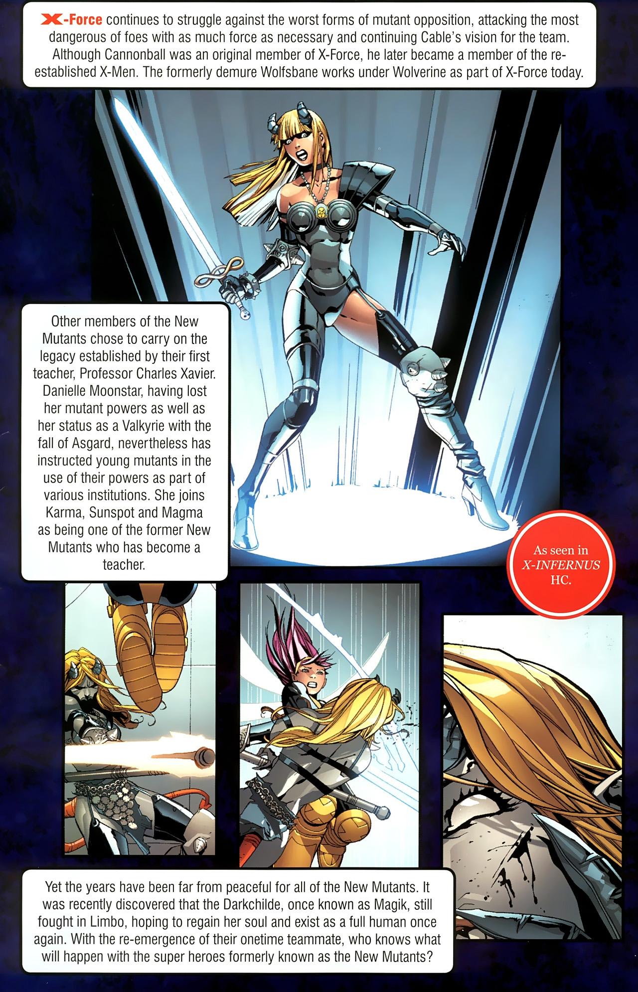 Read online New Mutants Saga comic -  Issue # Full - 32
