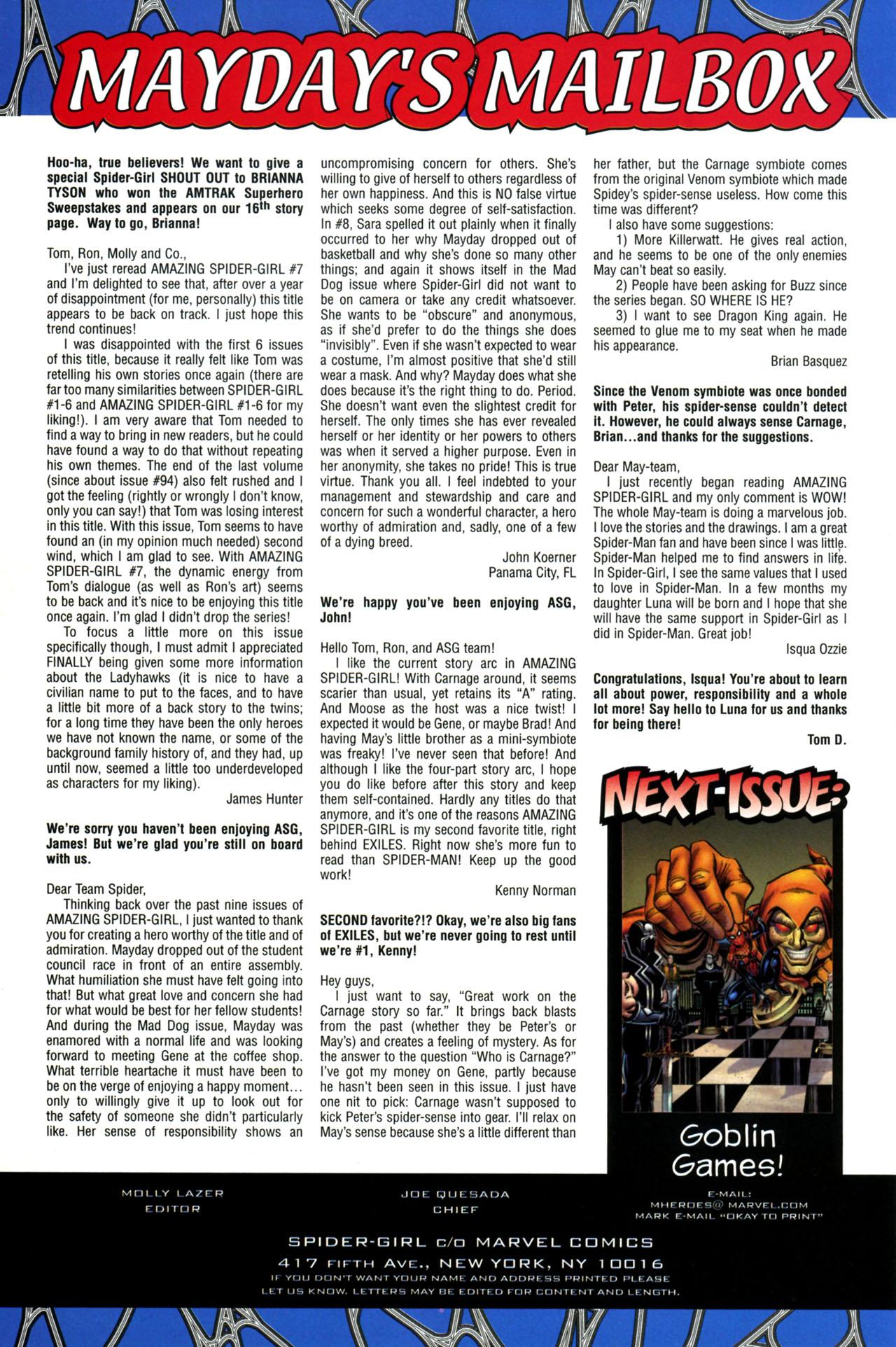 Amazing Spider-Girl #13 #18 - English 25