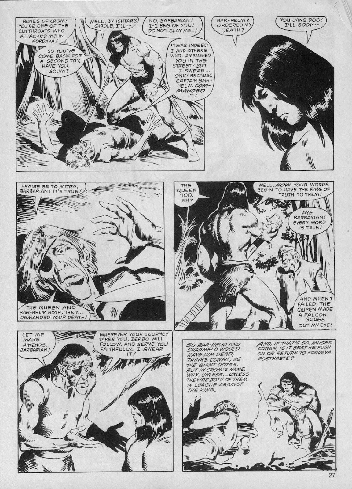 The Savage Sword Of Conan Issue #61 #62 - English 27