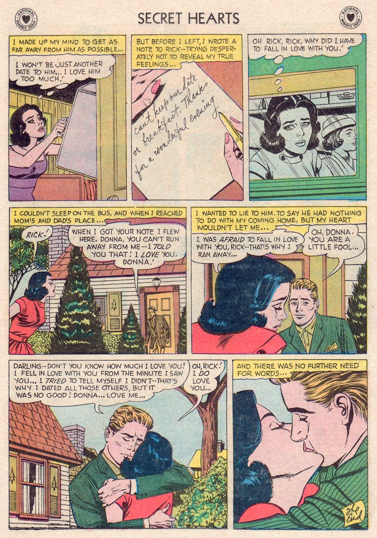Read online Secret Hearts comic -  Issue #46 - 25