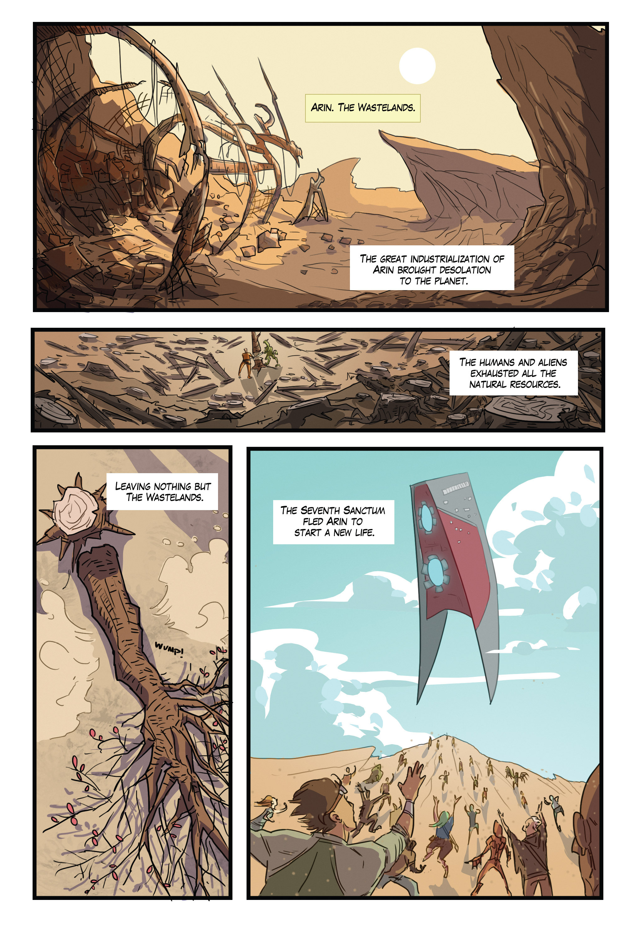 Read online Scavenger comic -  Issue #1 - 3