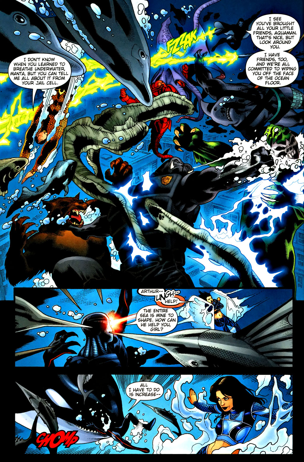 Aquaman (2003) Issue #37 #37 - English 12