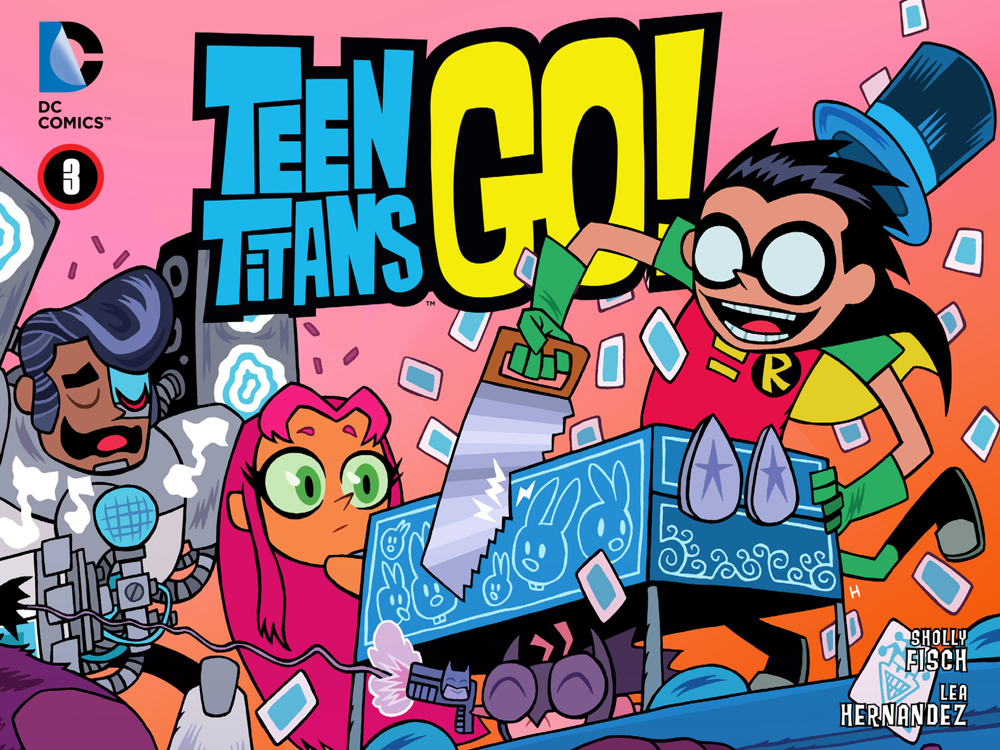 Teen Titans Go! (2013) 3 Page 1