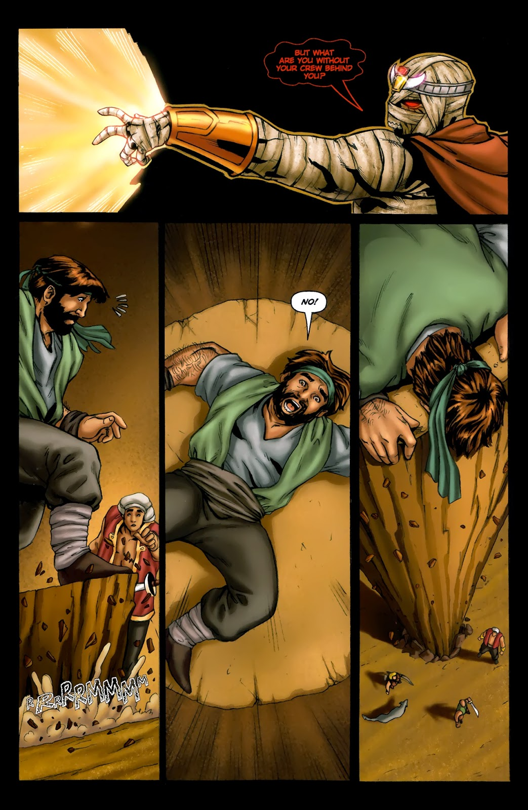 1001 Arabian Nights: The Adventures of Sinbad Issue #13 Page 5