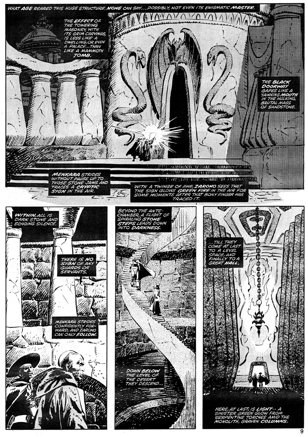 The Savage Sword Of Conan Issue #41 #42 - English 9
