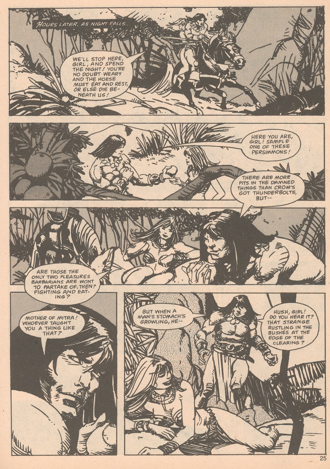 The Savage Sword Of Conan Issue #65 #66 - English 25