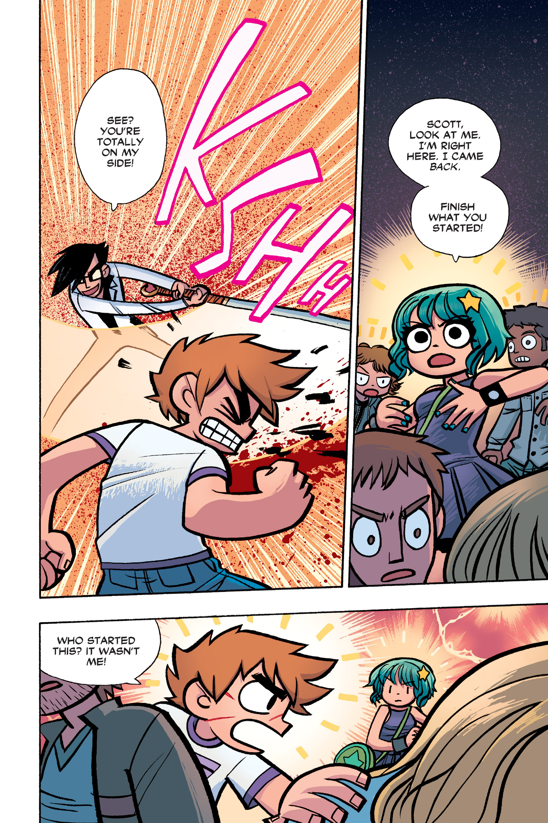 Read online Scott Pilgrim comic -  Issue #6 - 149