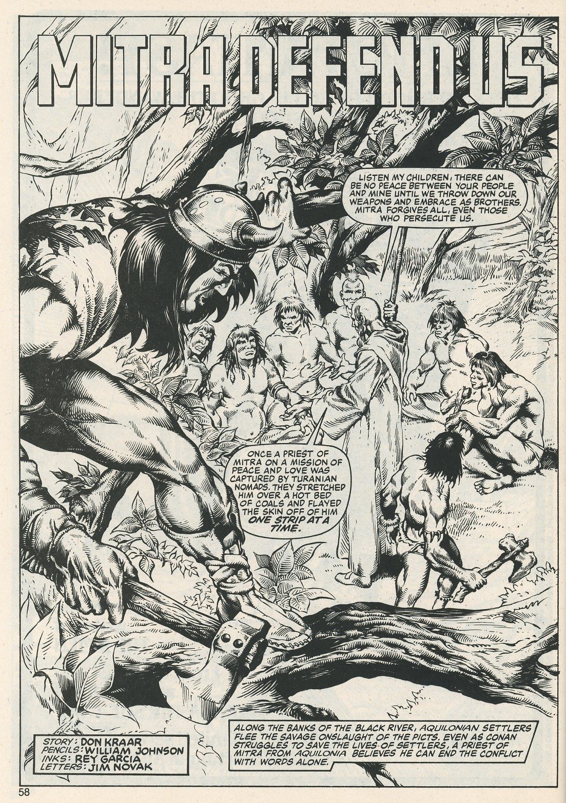 The Savage Sword Of Conan Issue #112 #113 - English 60