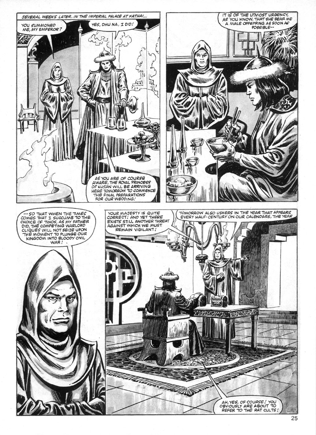 The Savage Sword Of Conan Issue #95 #96 - English 25