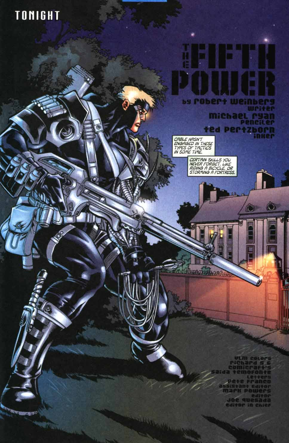 Cable (1993) 91 Page 3