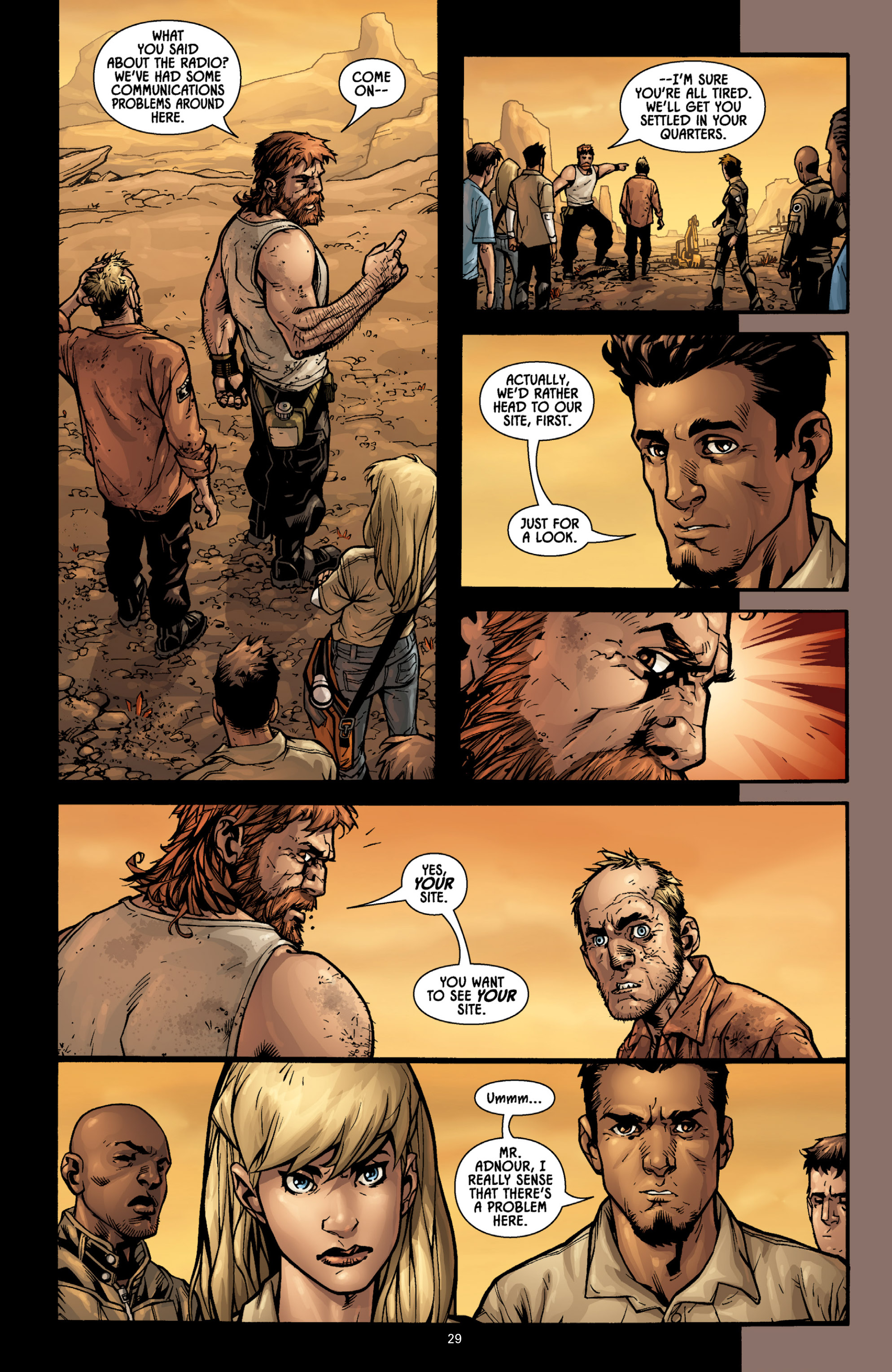 Aliens (2009) TPB Page 27