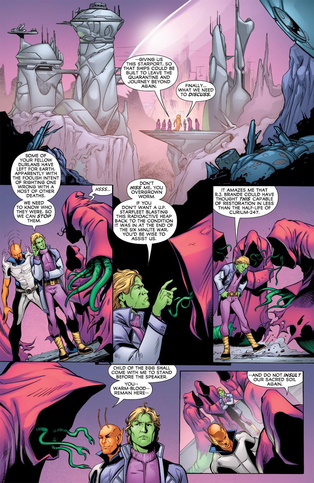 Legion of Super-Heroes (2010) Issue #9 #10 - English 5