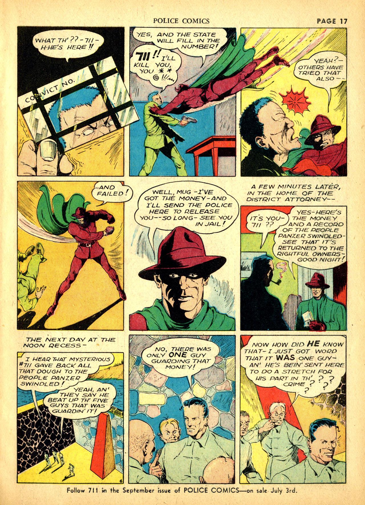 Police Comics #1 #127 - English 20
