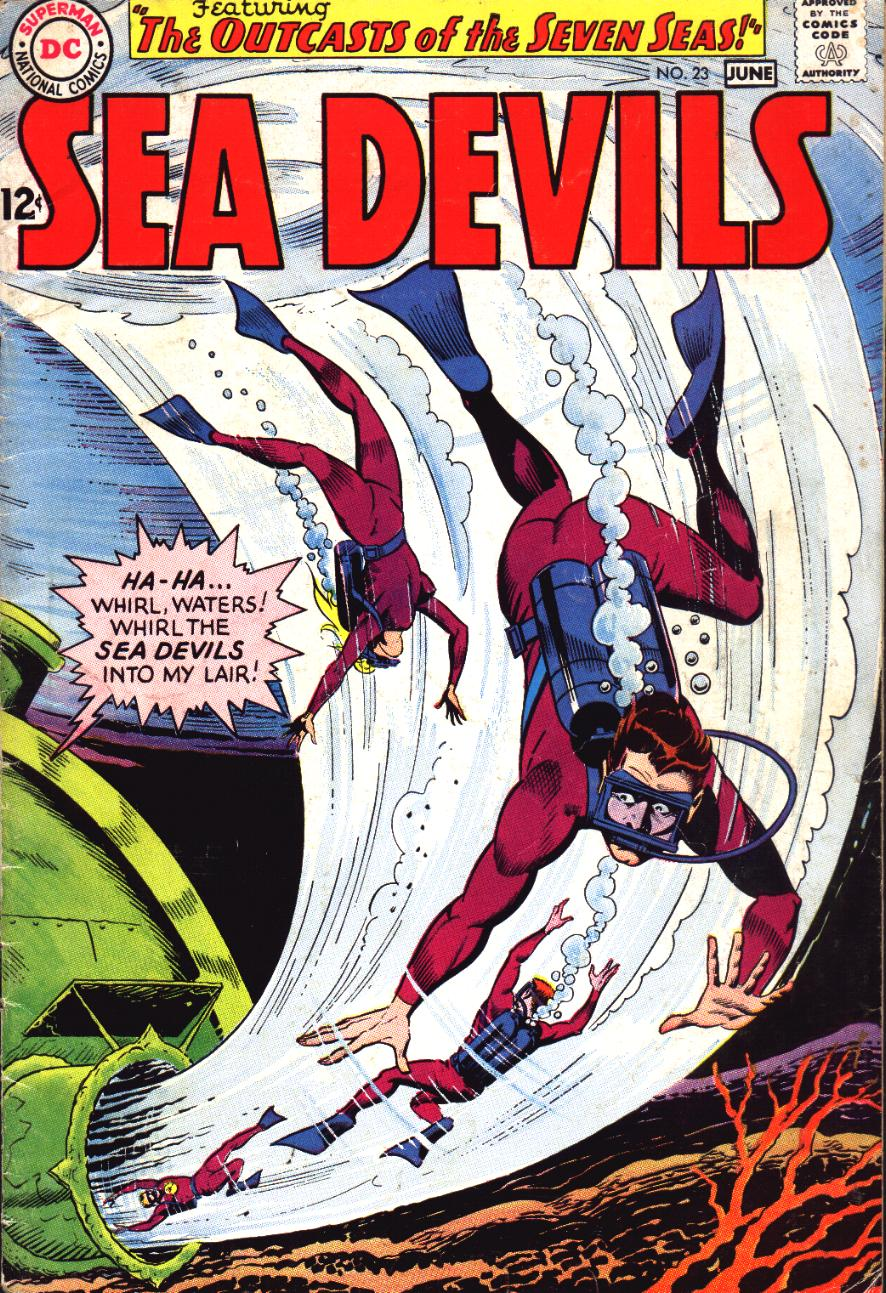 Read online Sea Devils comic -  Issue #23 - 1