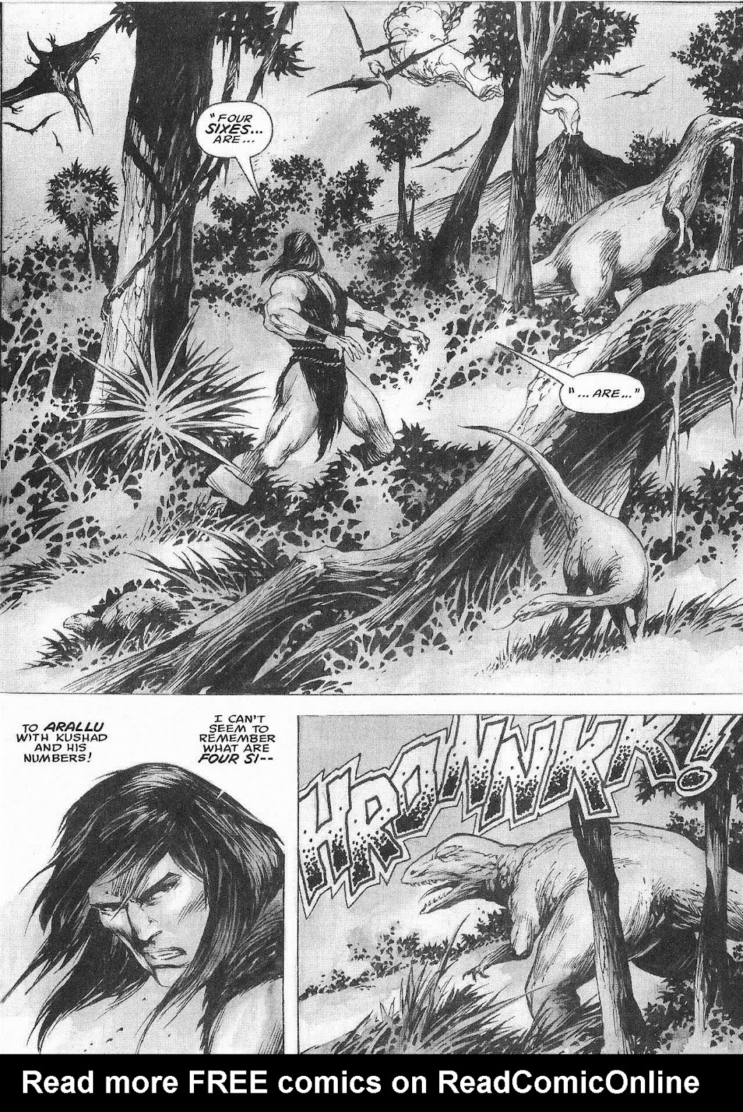 The Savage Sword Of Conan Issue #207 #208 - English 41