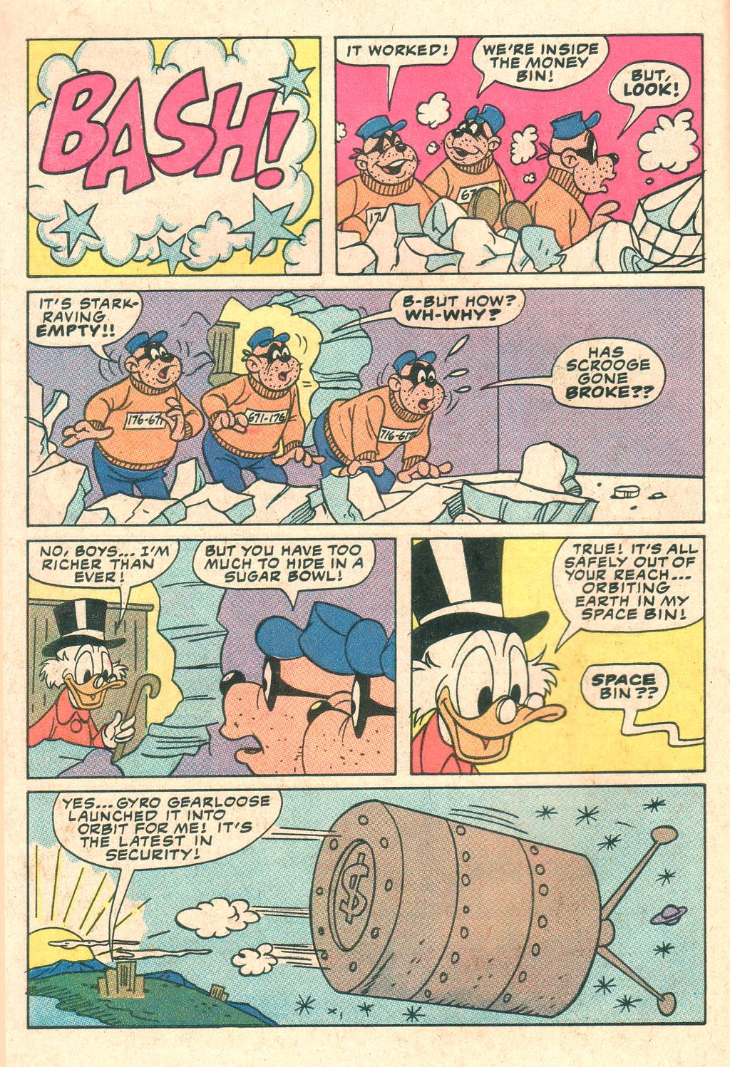 Uncle Scrooge (1953) Issue #205 #205 - English 6