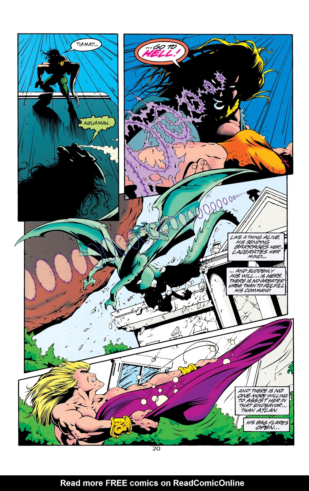 Aquaman (1994) Issue #25 #31 - English 21