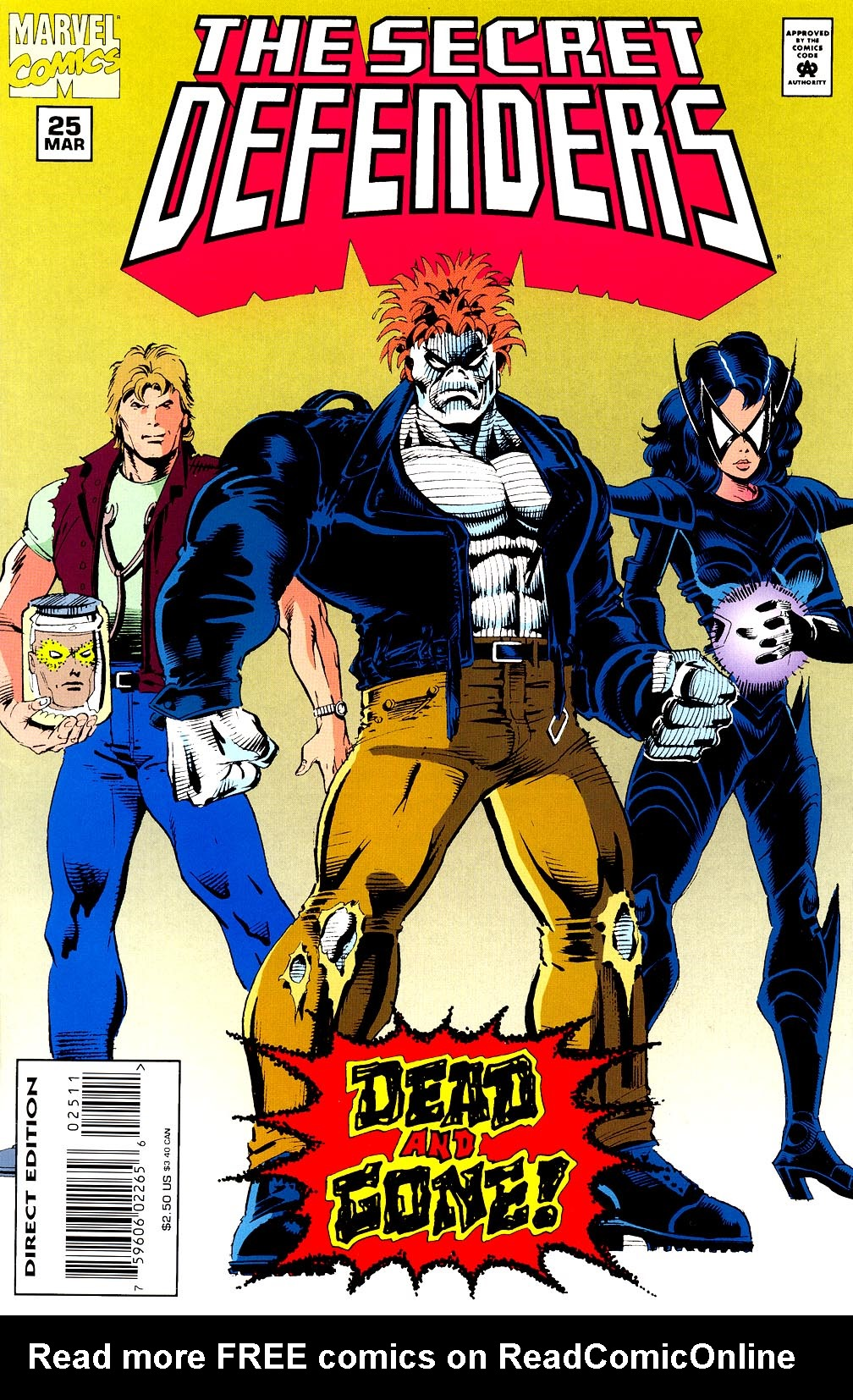 Read online Secret Defenders comic -  Issue #25 - 1