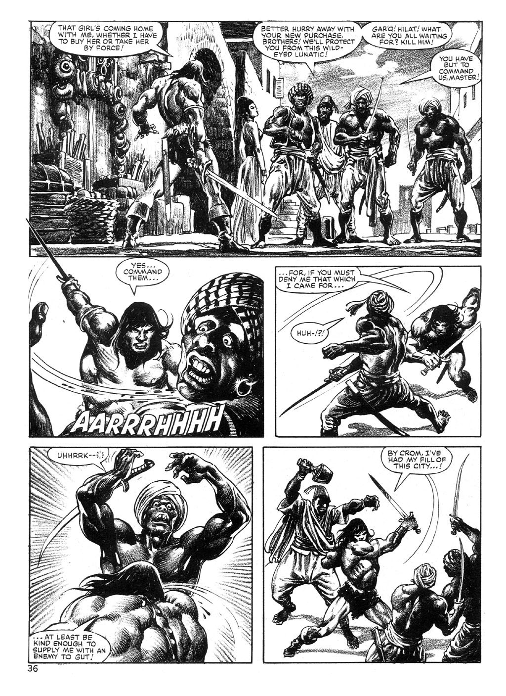 The Savage Sword Of Conan Issue #89 #90 - English 36