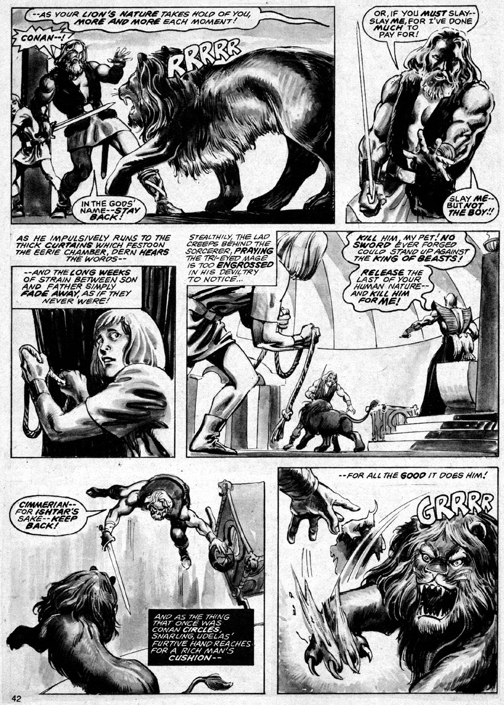 The Savage Sword Of Conan Issue #69 #70 - English 42