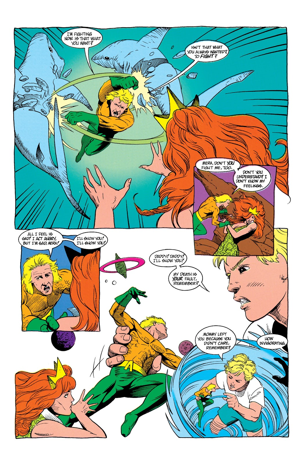 Aquaman (1991) Issue #7 #7 - English 9