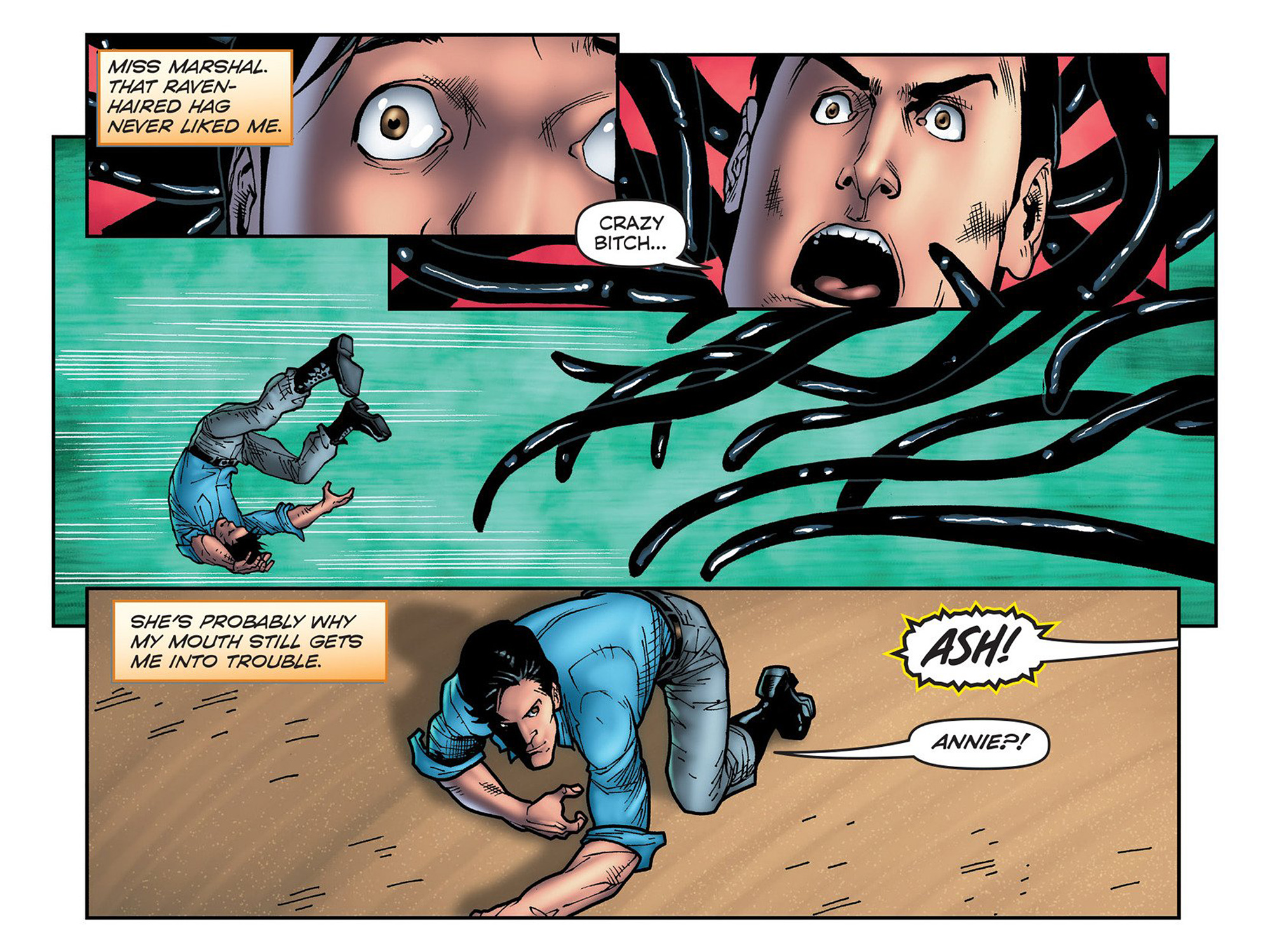 Read online Evil Dead 2: Cradle of the Damned comic -  Issue #6 - 14