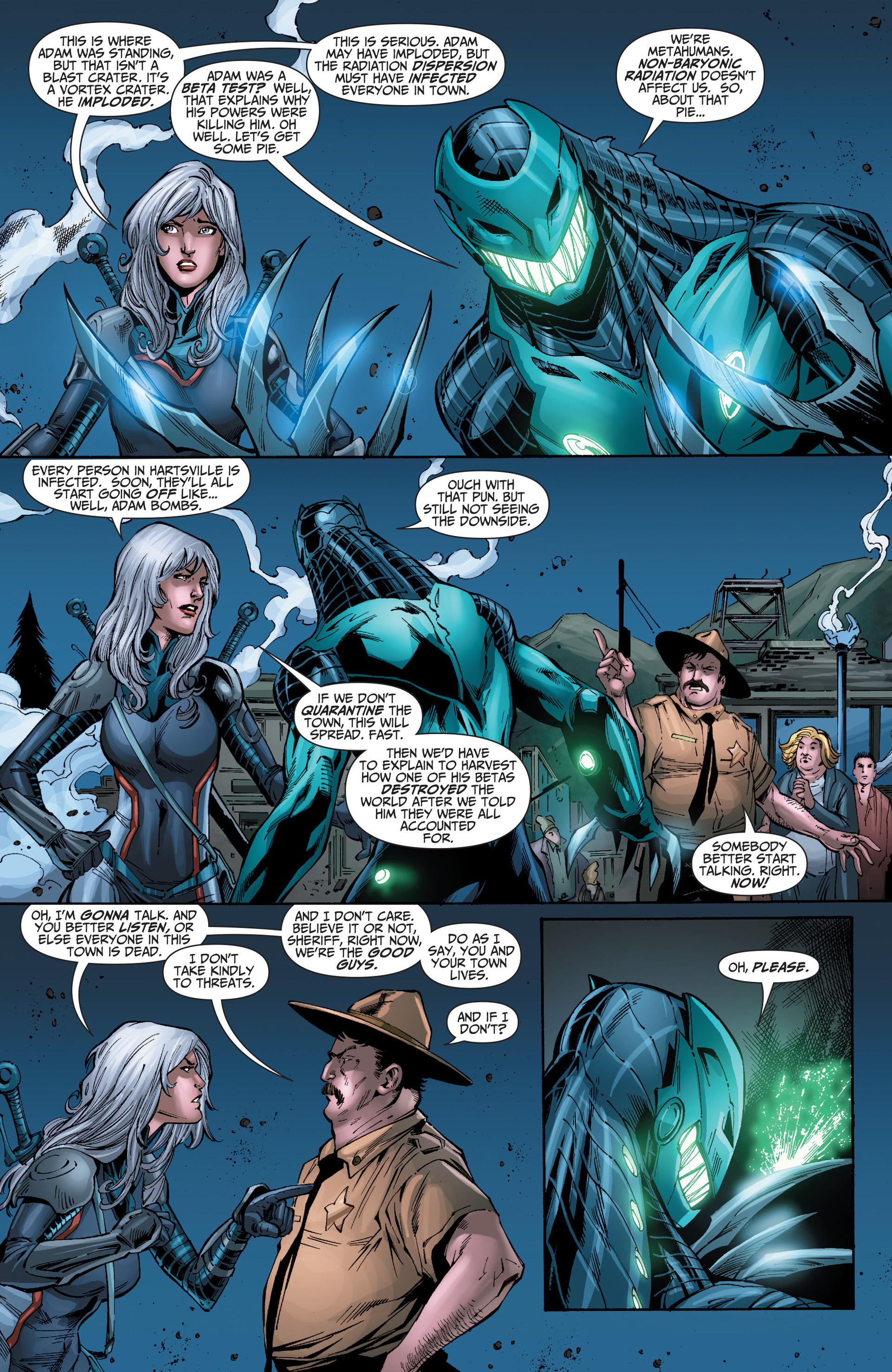 Read online The Ravagers comic -  Issue #8 - 7