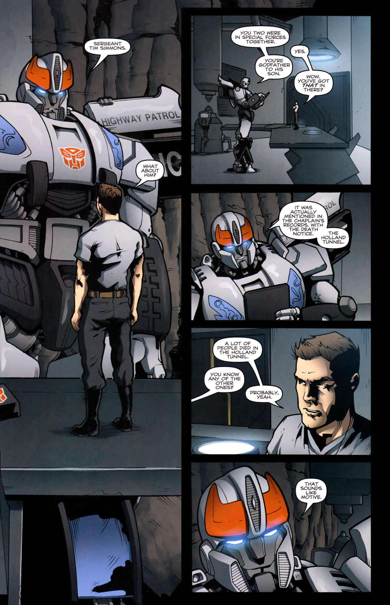 Read online The Transformers (2009) comic -  Issue #29 - 6
