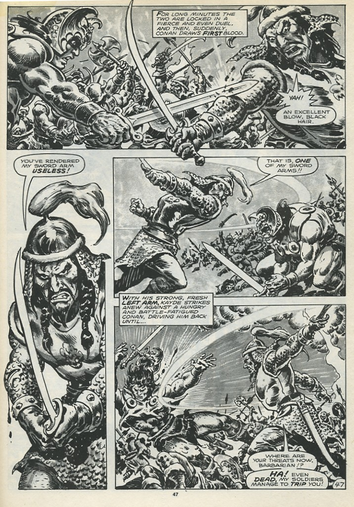 The Savage Sword Of Conan Issue #173 #174 - English 49
