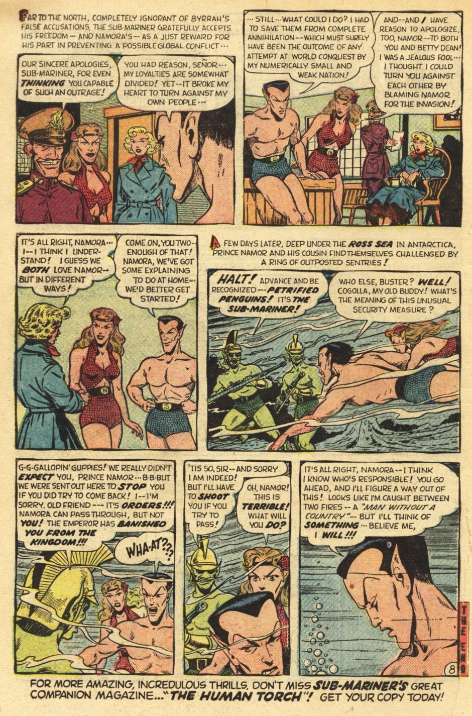Sub-Mariner Comics #35 #35 - English 10