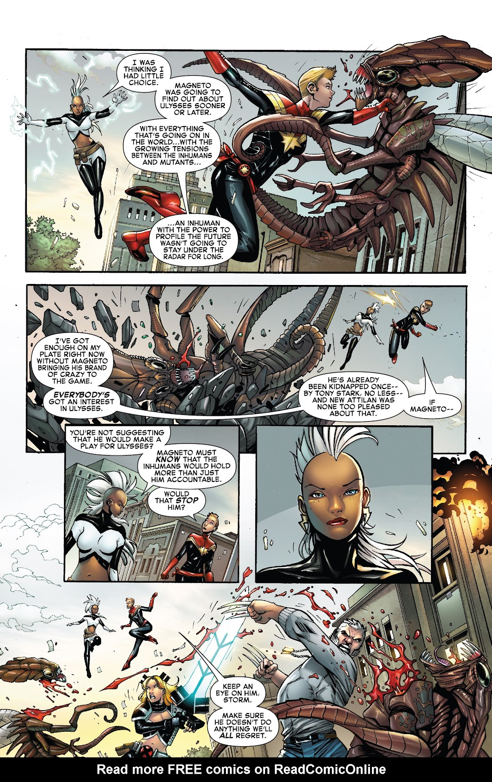 Civil War II: X-Men Issue #2 #2 - English 5