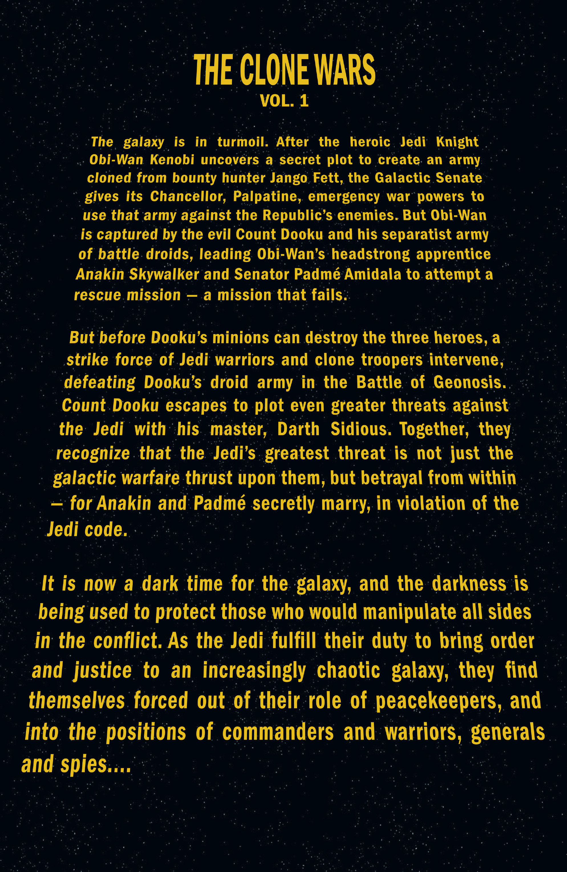 Star Wars Legends Epic Collection: The Clone Wars chap 1 pic 5