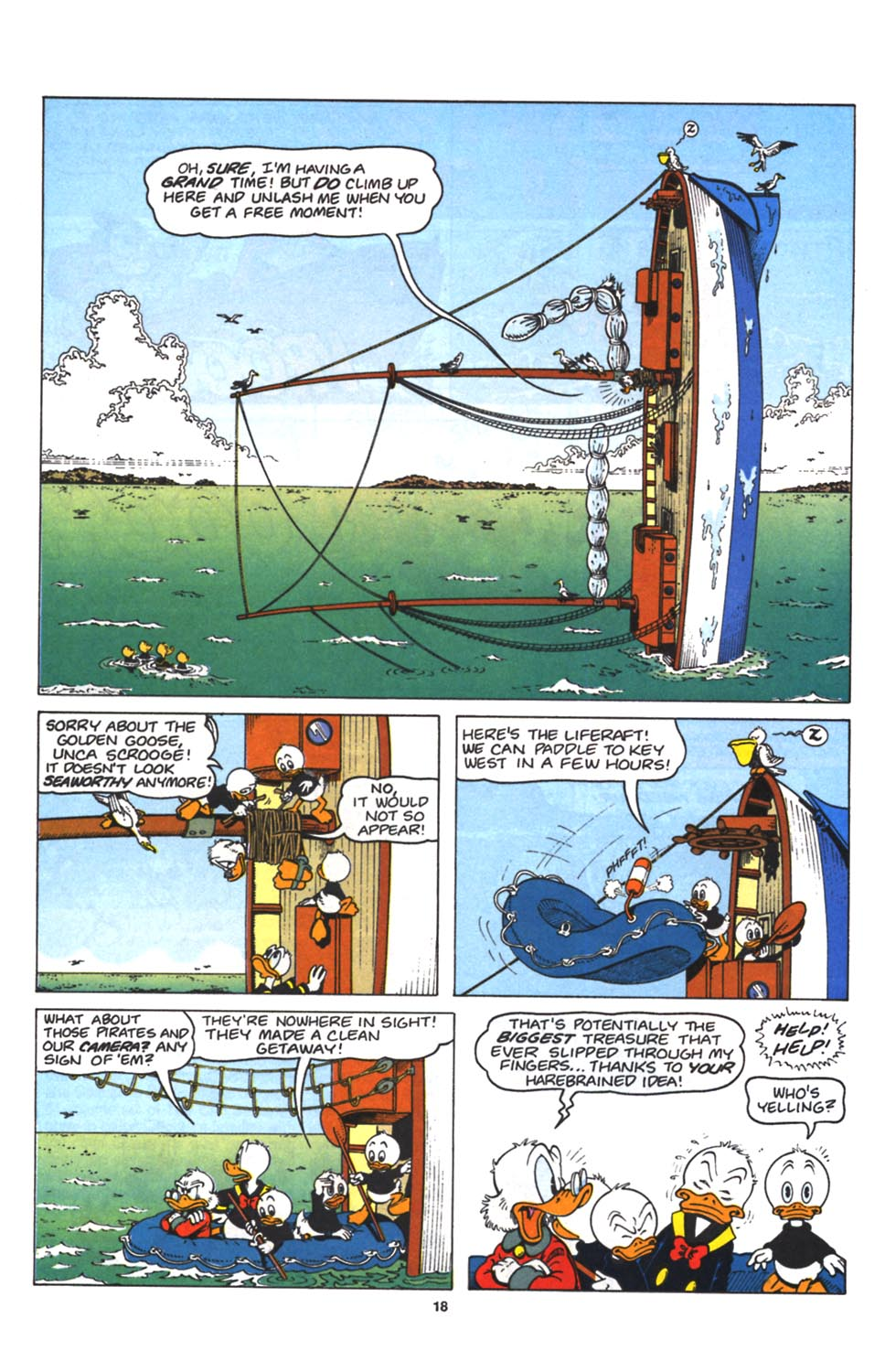 Uncle Scrooge (1953) Issue #263 #263 - English 20