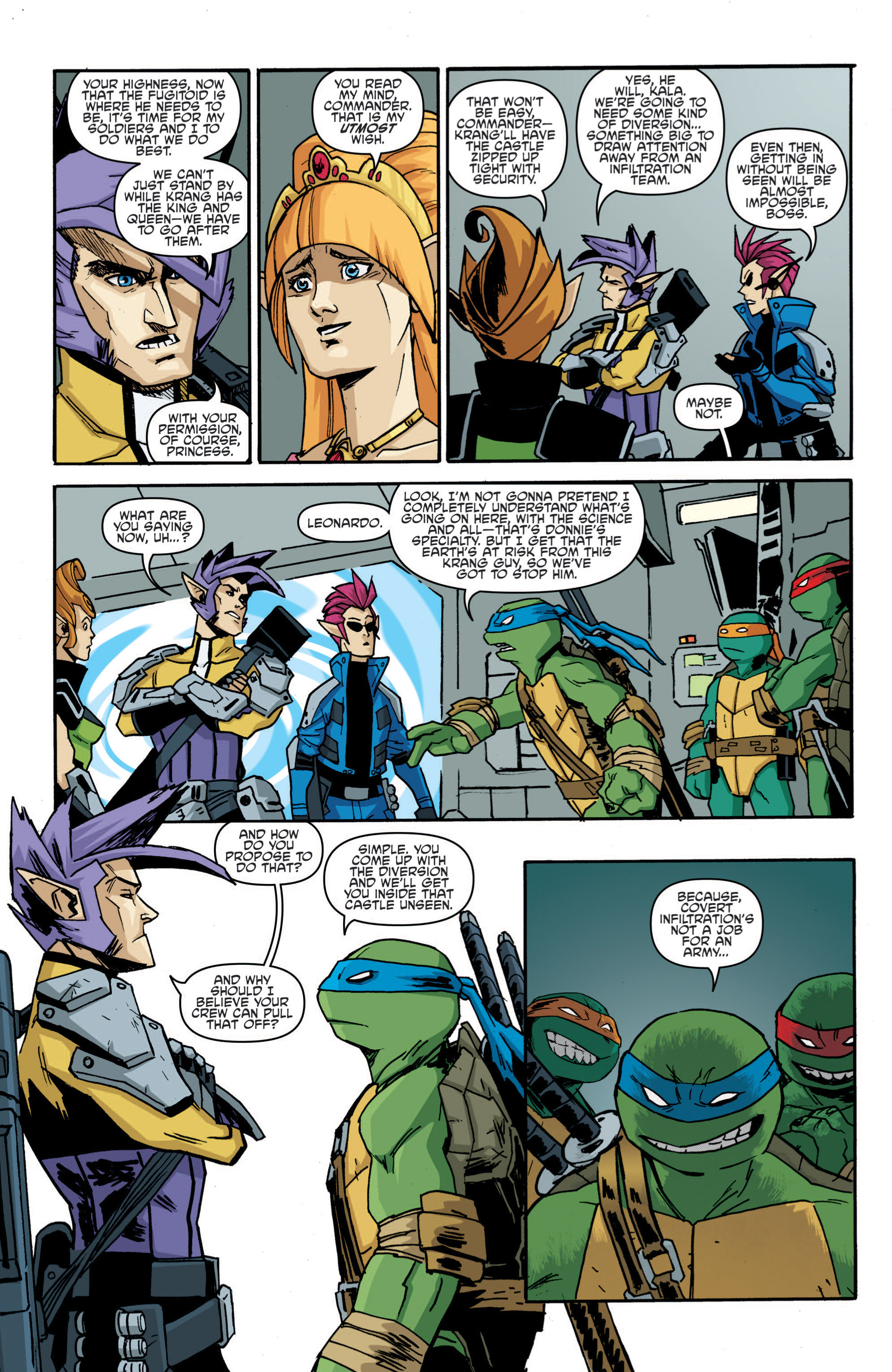 Read online Teenage Mutant Ninja Turtles (2011) comic -  Issue #19 - 9