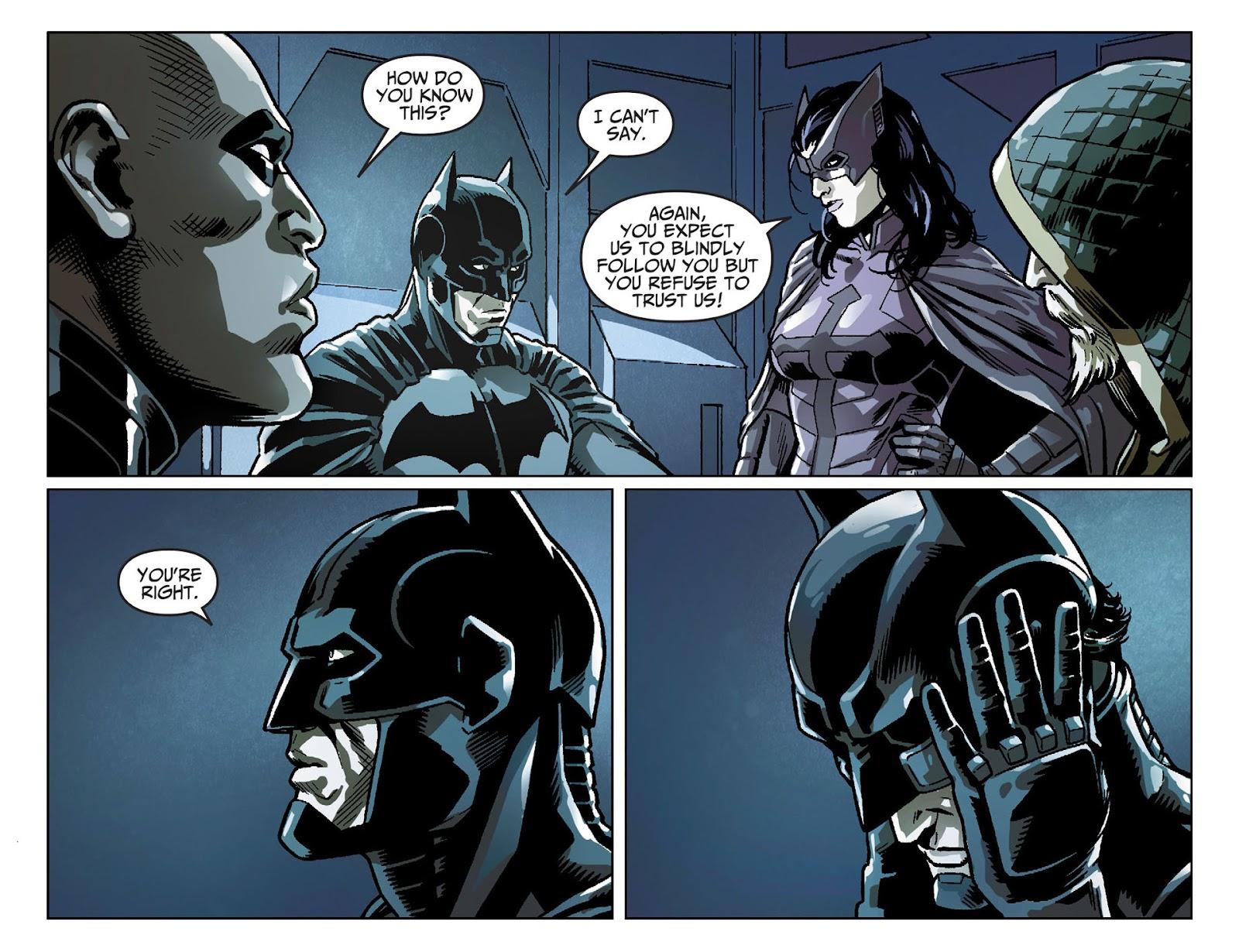 Injustice: Gods Among Us [I] Issue #25 #26 - English 12