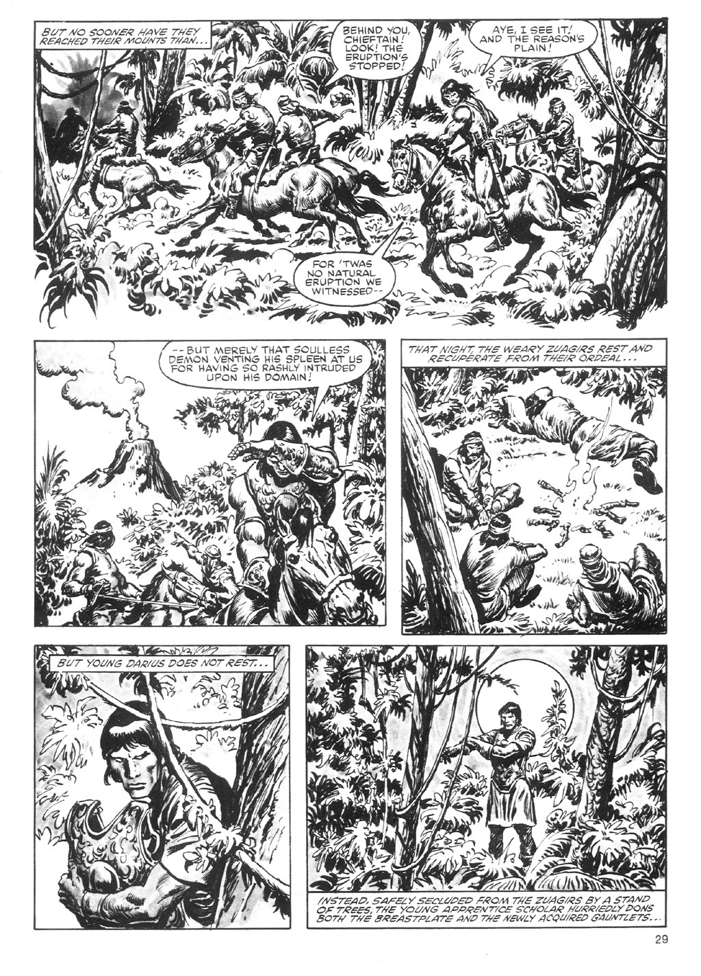 The Savage Sword Of Conan Issue #87 #88 - English 29