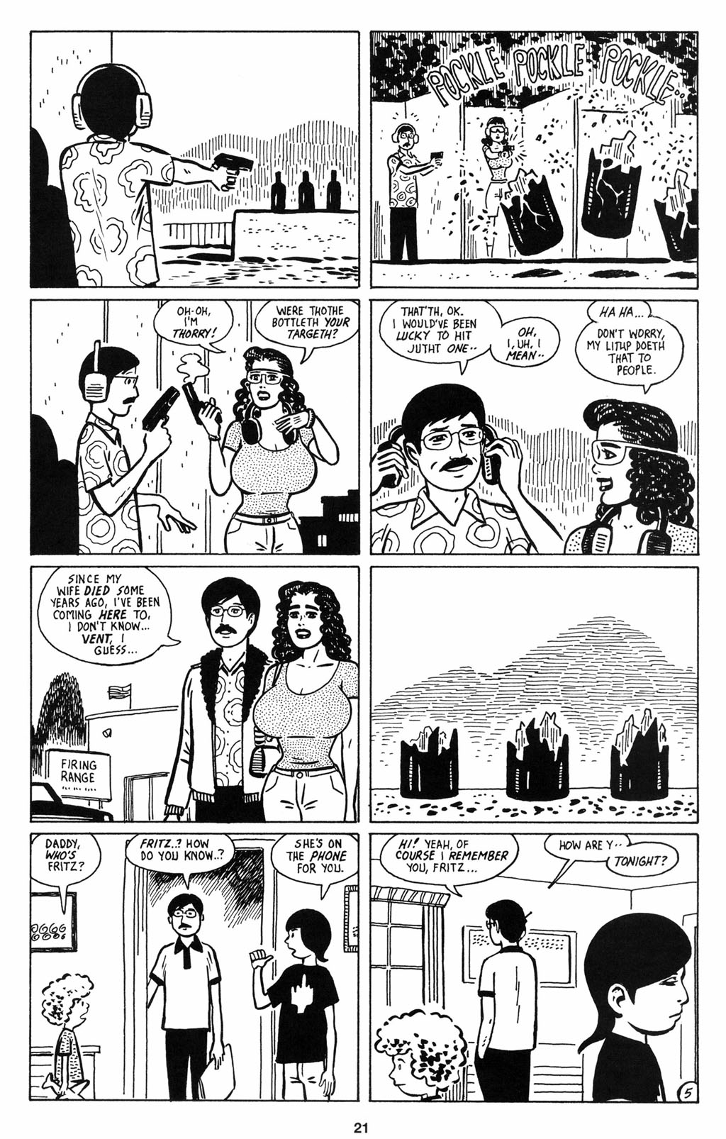 Read online Love and Rockets (2001) comic -  Issue #12 - 22