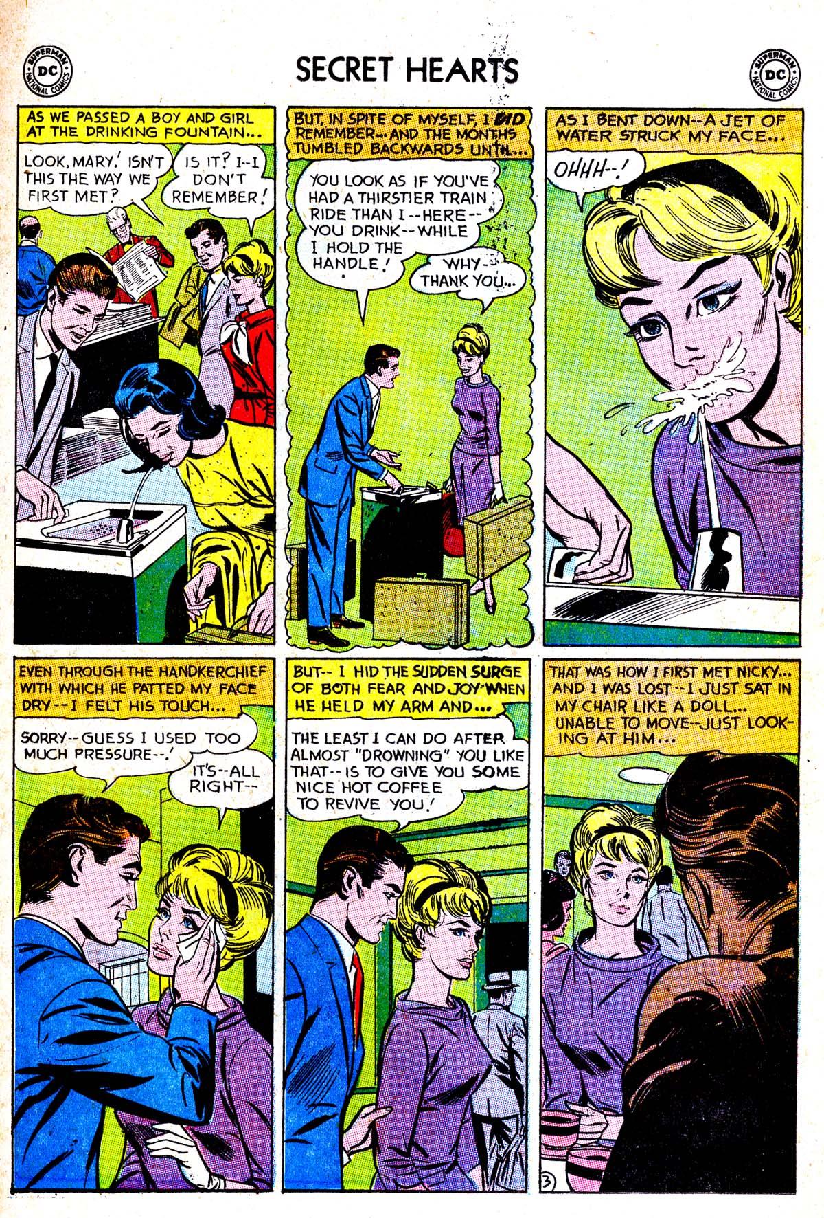 Read online Secret Hearts comic -  Issue #85 - 5