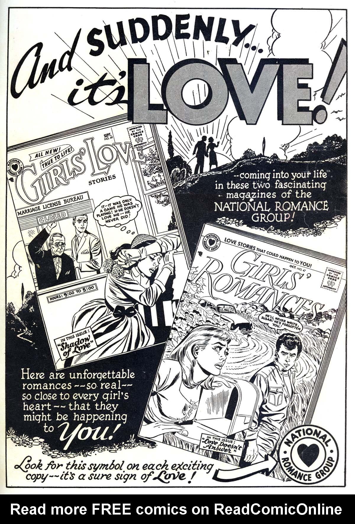 Read online Secret Hearts comic -  Issue #42 - 35