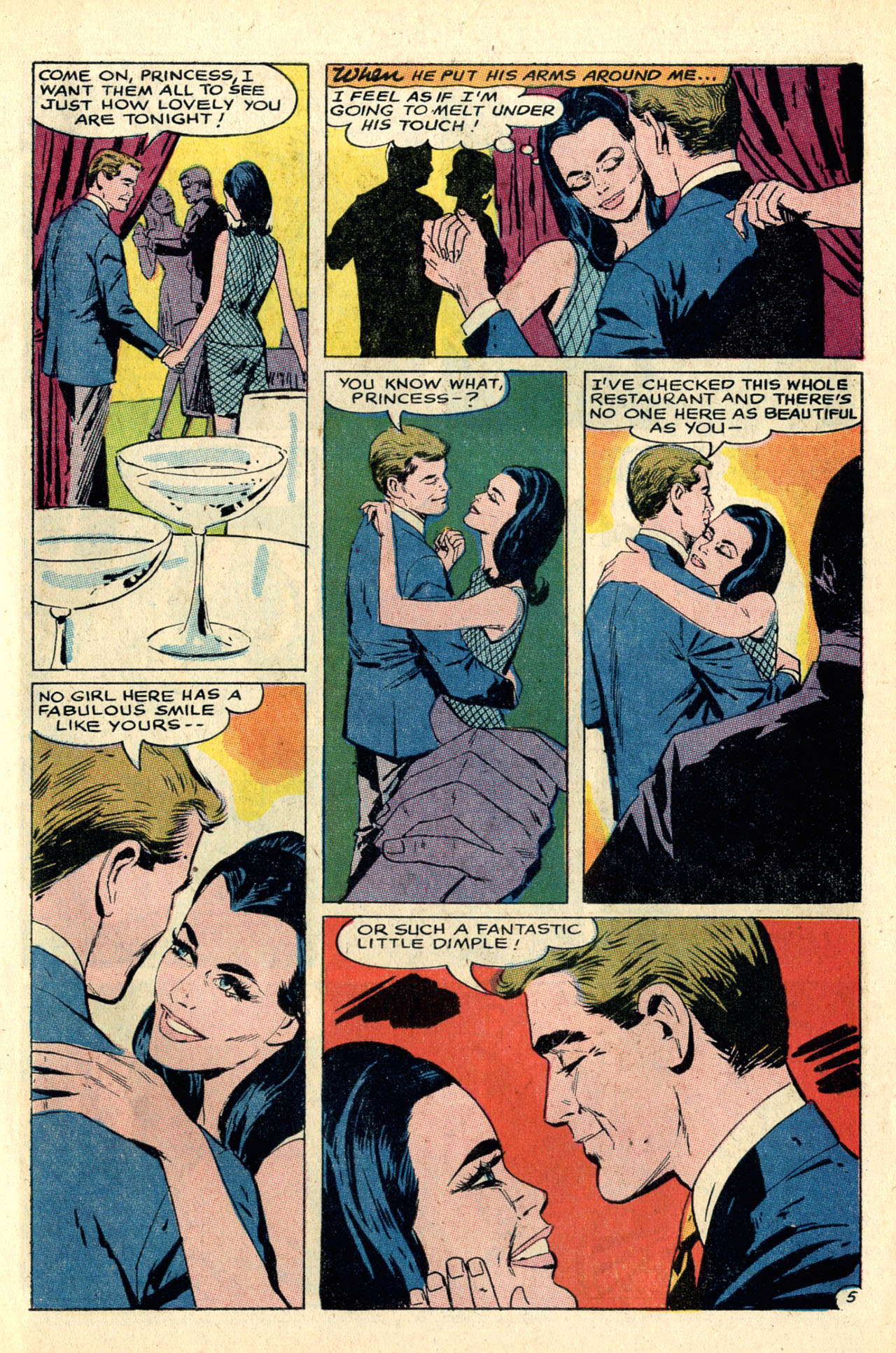 Read online Secret Hearts comic -  Issue #127 - 7