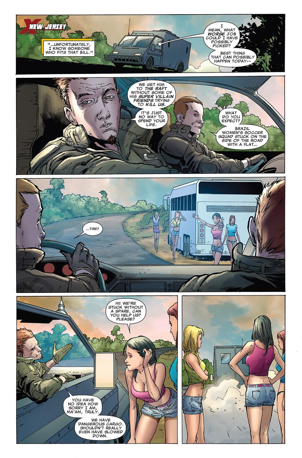 Uncanny X-Force (2010) Issue #10 #11 - English 21