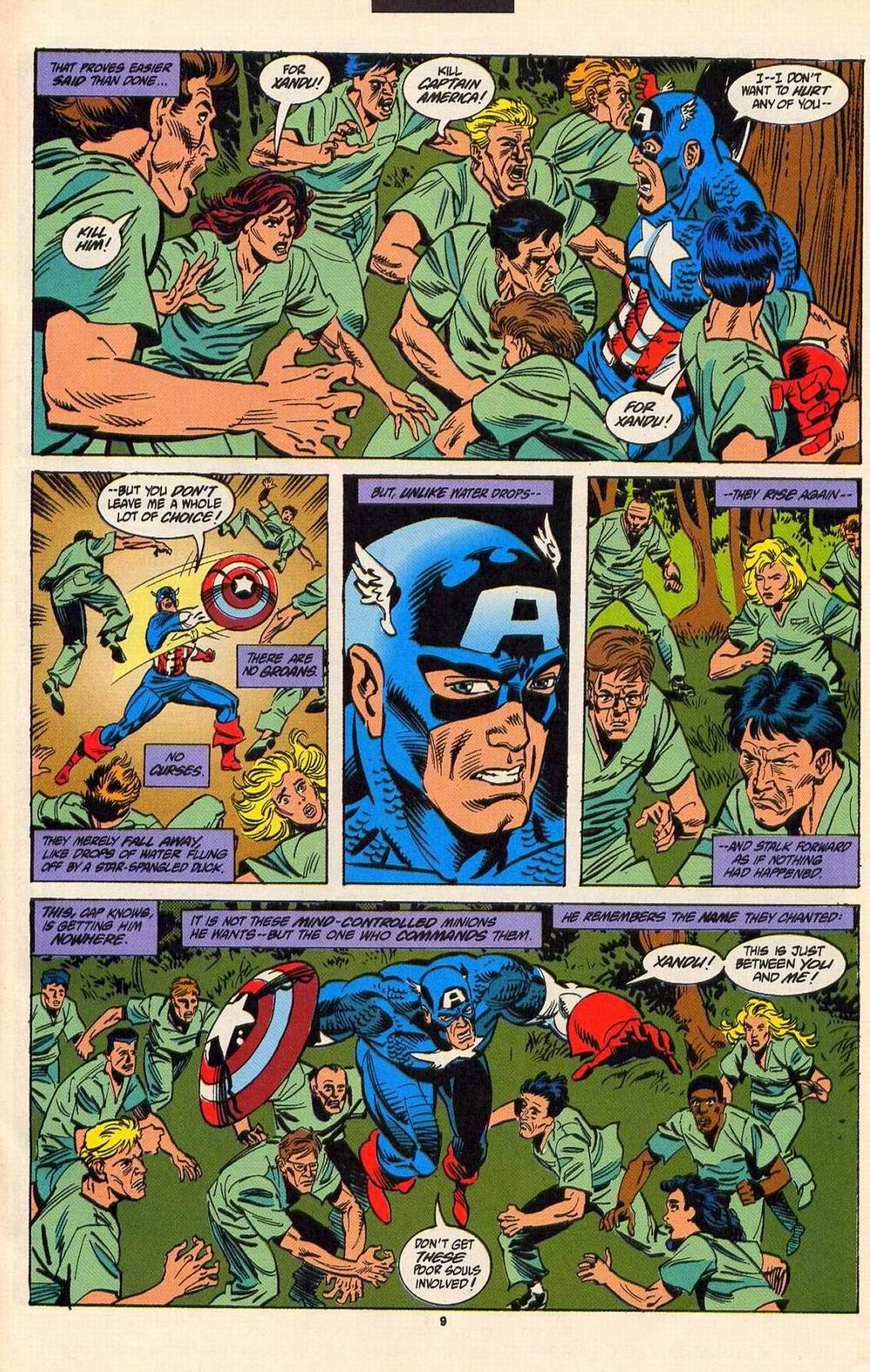 Read online Secret Defenders comic -  Issue #6 - 8