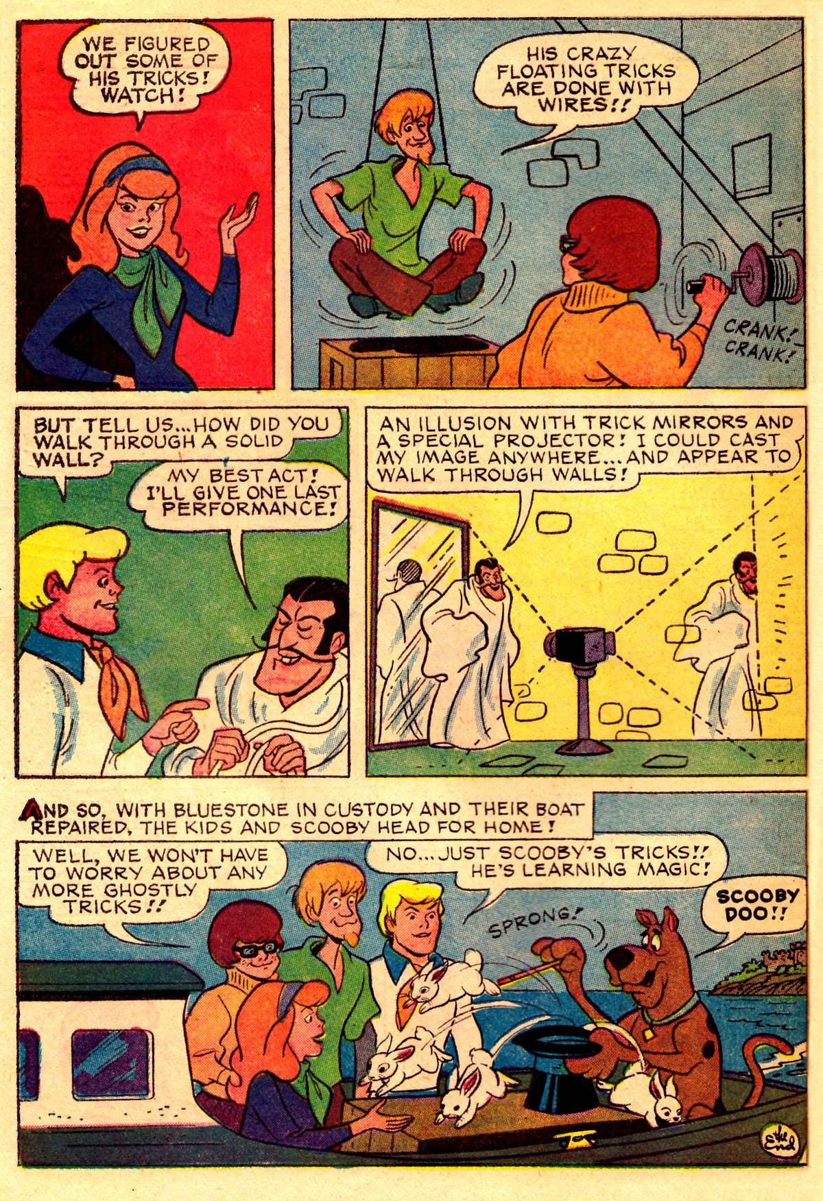 Read online Scooby-Doo... Where Are You! (1970) comic -  Issue #2 - 27