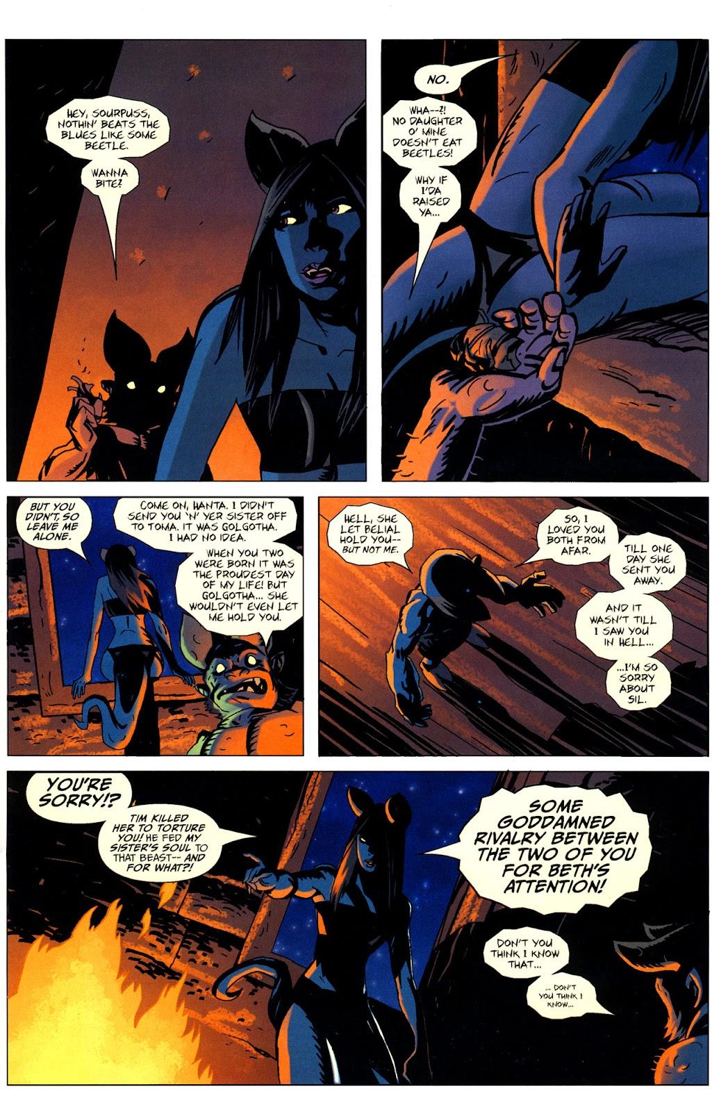 Strange Girl Issue #16 #17 - English 23