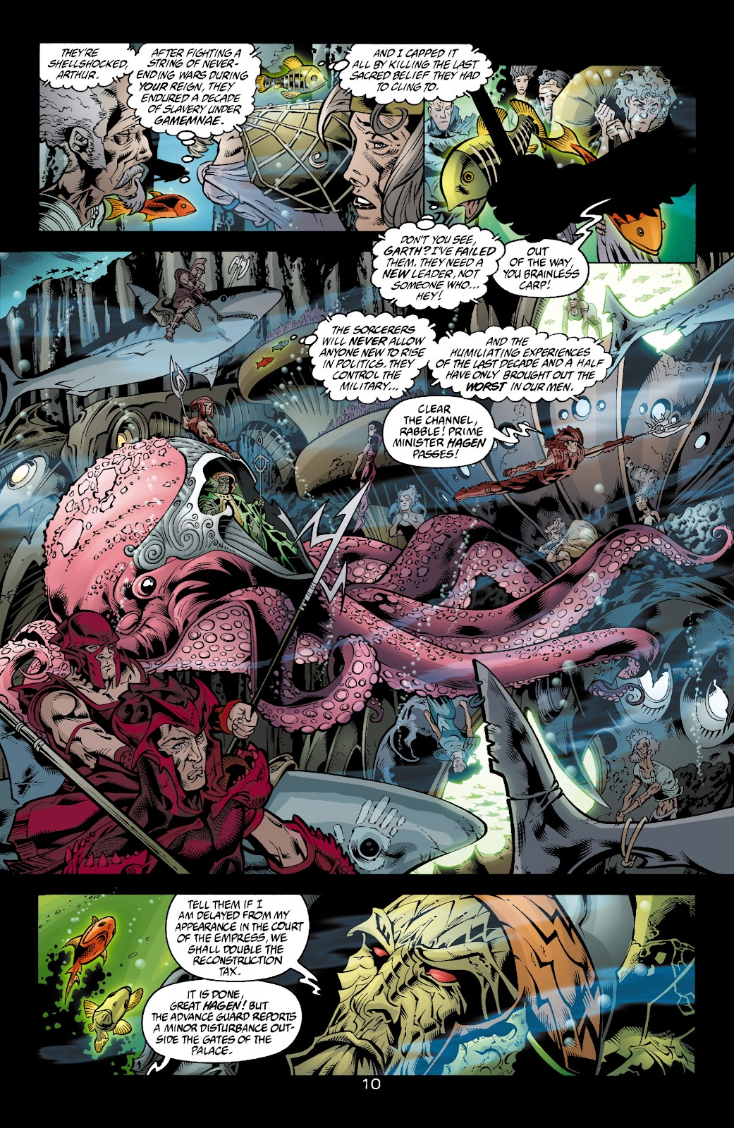 Aquaman (2003) Issue #4 #4 - English 11